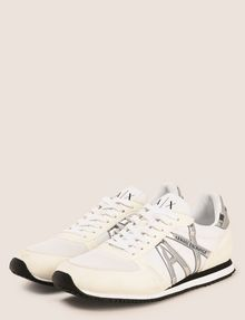 ARMANI EXCHANGE RETRO LOW-TOP LOGO SNEAKERS Sneakers Man r