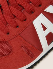 ARMANI EXCHANGE RETRO LOW-TOP LOGO SNEAKERS Sneaker Man a