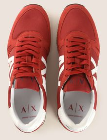 ARMANI EXCHANGE RETRO LOW-TOP LOGO SNEAKERS Sneaker Man e