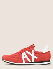 ARMANI EXCHANGE RETRO LOW-TOP LOGO SNEAKERS Sneaker Man f