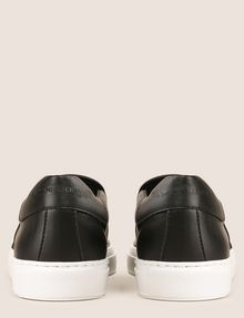 ARMANI EXCHANGE PERFORATED SLIP-ON LOGO SNEAKERS SLIP-ON [*** pickupInStoreShippingNotGuaranteed_info ***] d