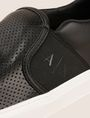 ARMANI EXCHANGE PERFORATED SLIP-ON LOGO SNEAKER SLIP-ON Man a