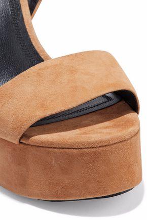 ALEXANDER WANG Keke suede platform sandals