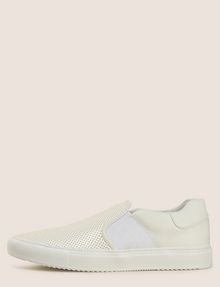 ARMANI EXCHANGE PERFORATED SLIP-ON LOGO SNEAKERS SLIP-ON Man f