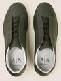 ARMANI EXCHANGE HIDDEN LACE LOW-TOP SNEAKERS Sneakers Man e