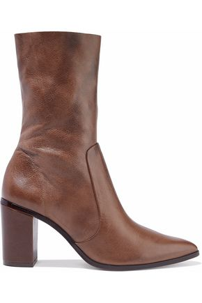 SCHUTZ Leather ankle boots