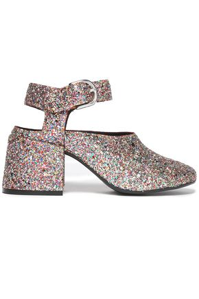MM6 MAISON MARGIELA Glittered leather pumps