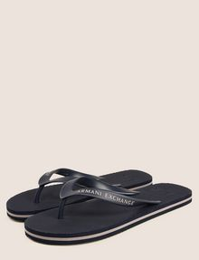 ARMANI EXCHANGE STRIPED SOLE FLIPFLOPS flip-flop Man r