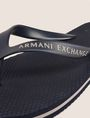 ARMANI EXCHANGE STRIPED SOLE FLIPFLOPS flip-flop Man e