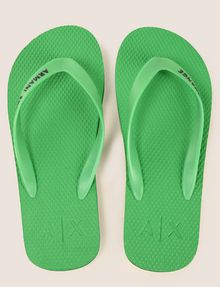 ARMANI EXCHANGE STRIPED SOLE FLIPFLOPS flip-flop Man d