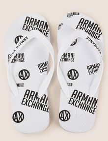 ARMANI EXCHANGE INFRADITO STAMPATE Infradito [*** pickupInStoreShippingNotGuaranteed_info ***] d