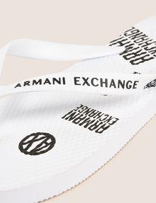 ARMANI EXCHANGE PRINTED FLIP-FLOPS flip-flop Man e