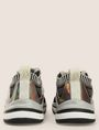 ARMANI EXCHANGE MIRRORED SOCK-KNIT LOW-TOP SNEAKERS Sneakers Woman d