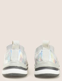 ARMANI EXCHANGE MIRRORED SOCK-KNIT LOW-TOP SNEAKERS Sneakers [*** pickupInStoreShipping_info ***] d