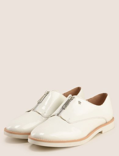 ZIP-FRONT OXFORDS