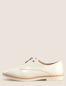 ARMANI EXCHANGE ZIP-FRONT OXFORDS DRESS SHOE Woman f