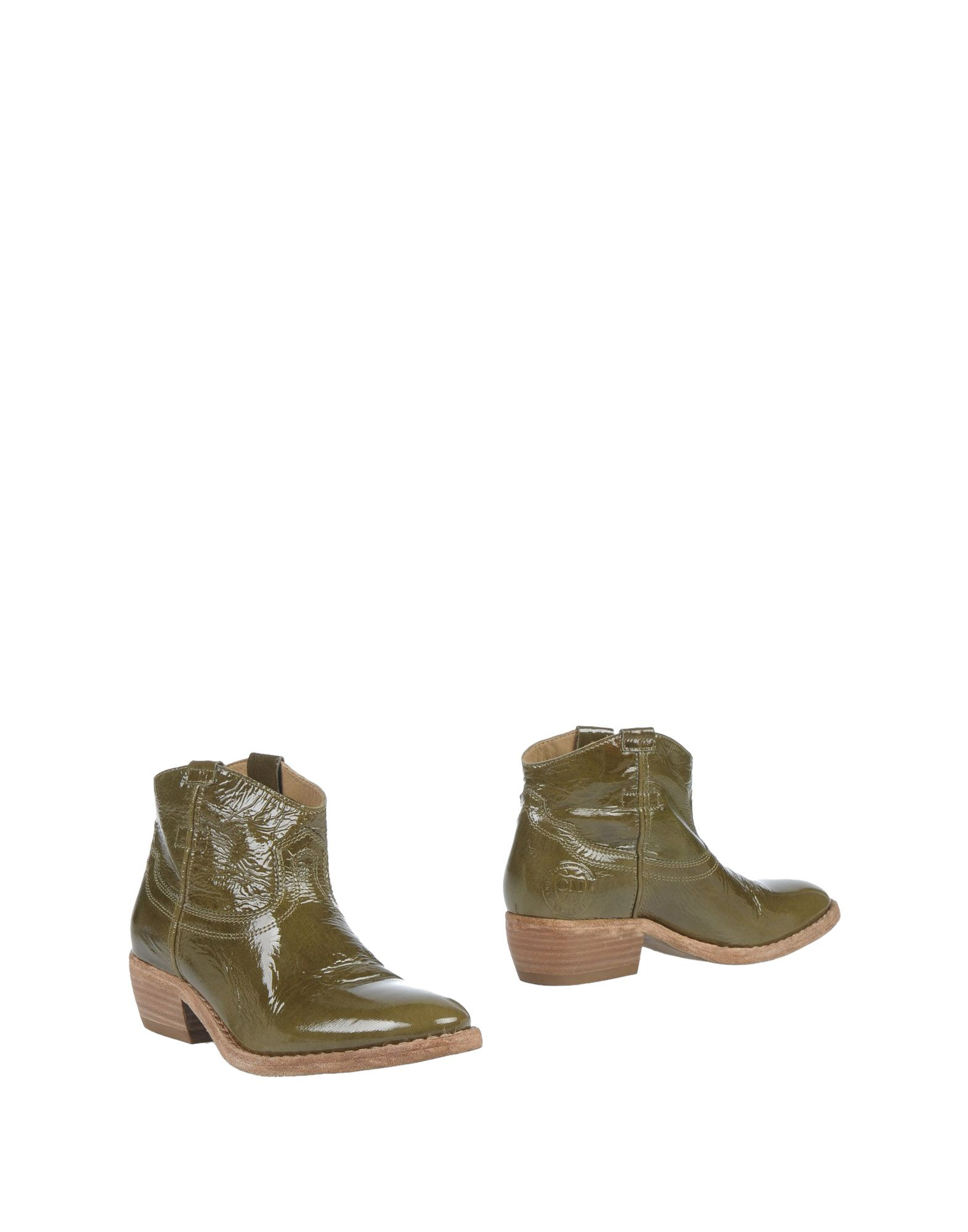 CATARINA MARTINS Ankle Boot in Military Green
