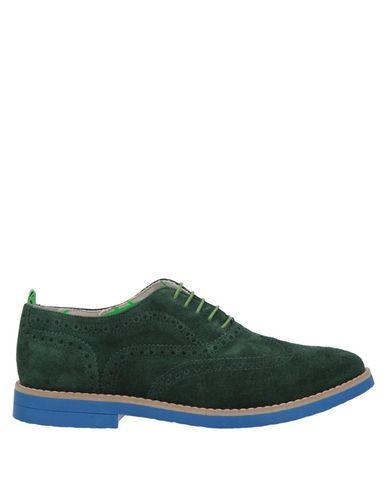Фото - Обувь на шнурках зеленого цвета