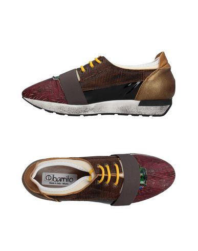Низкие кеды и кроссовки от EBARRITO