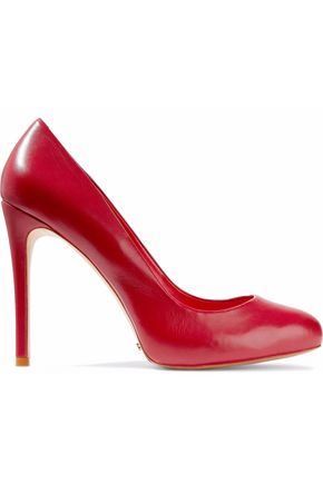 SCHUTZ Glossed-leather pumps
