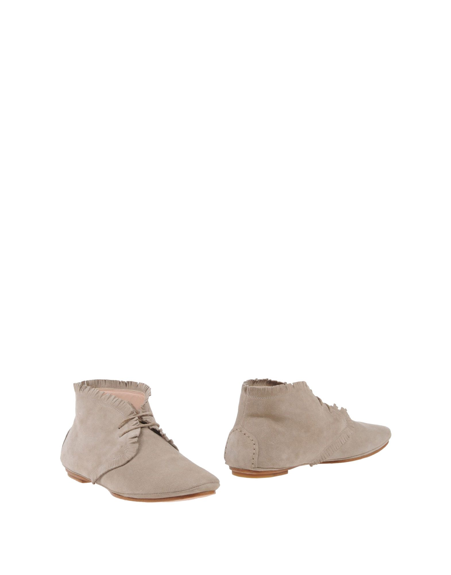 UNÜTZER Ankle Boot in Light Grey