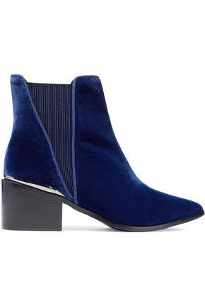 SCHUTZ Velvet ankle boots