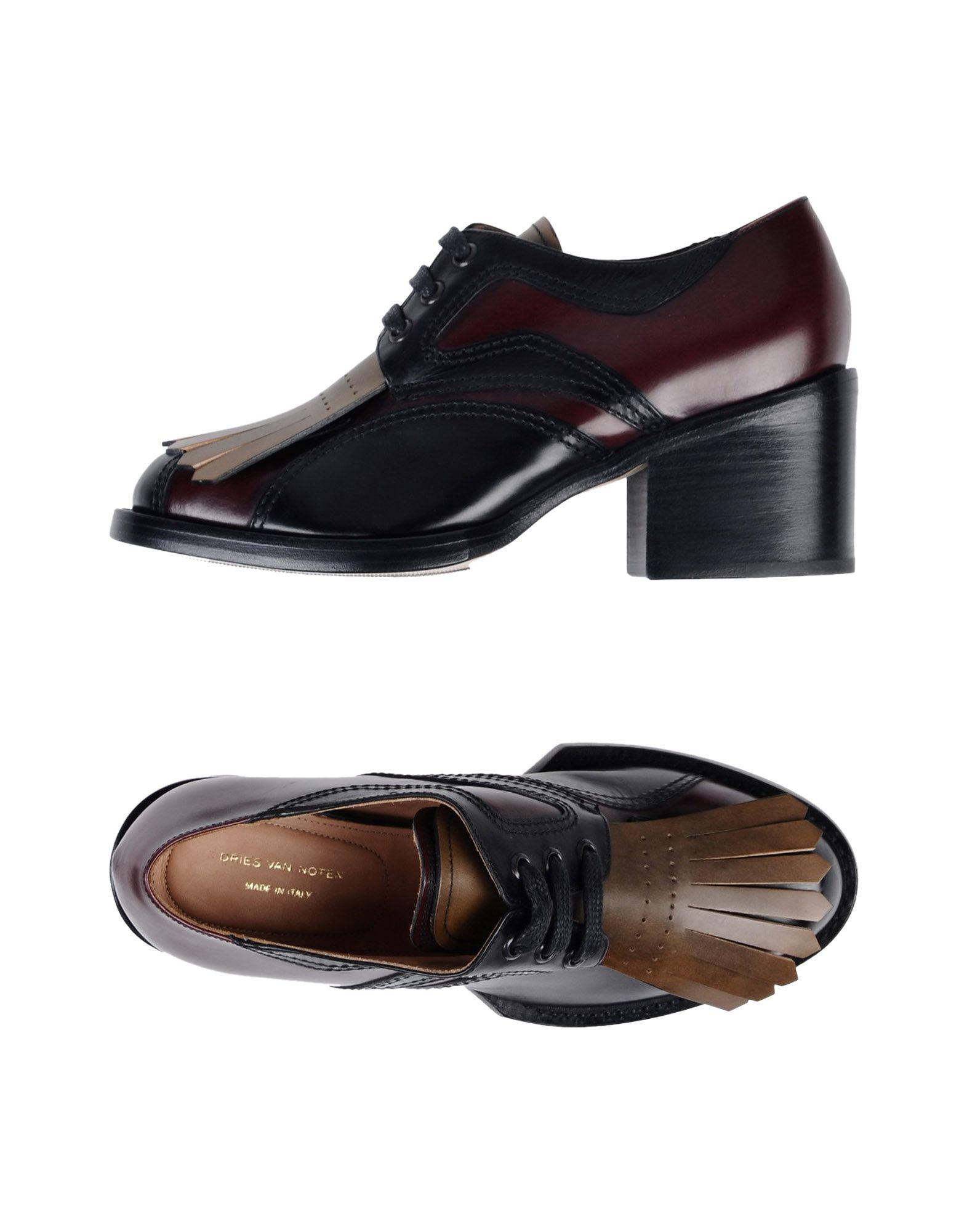 DRIES VAN NOTEN Обувь на шнурках цены онлайн