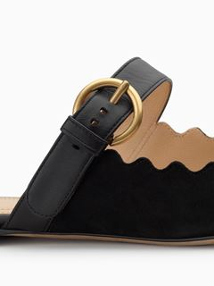 Lauren slip-on mule
