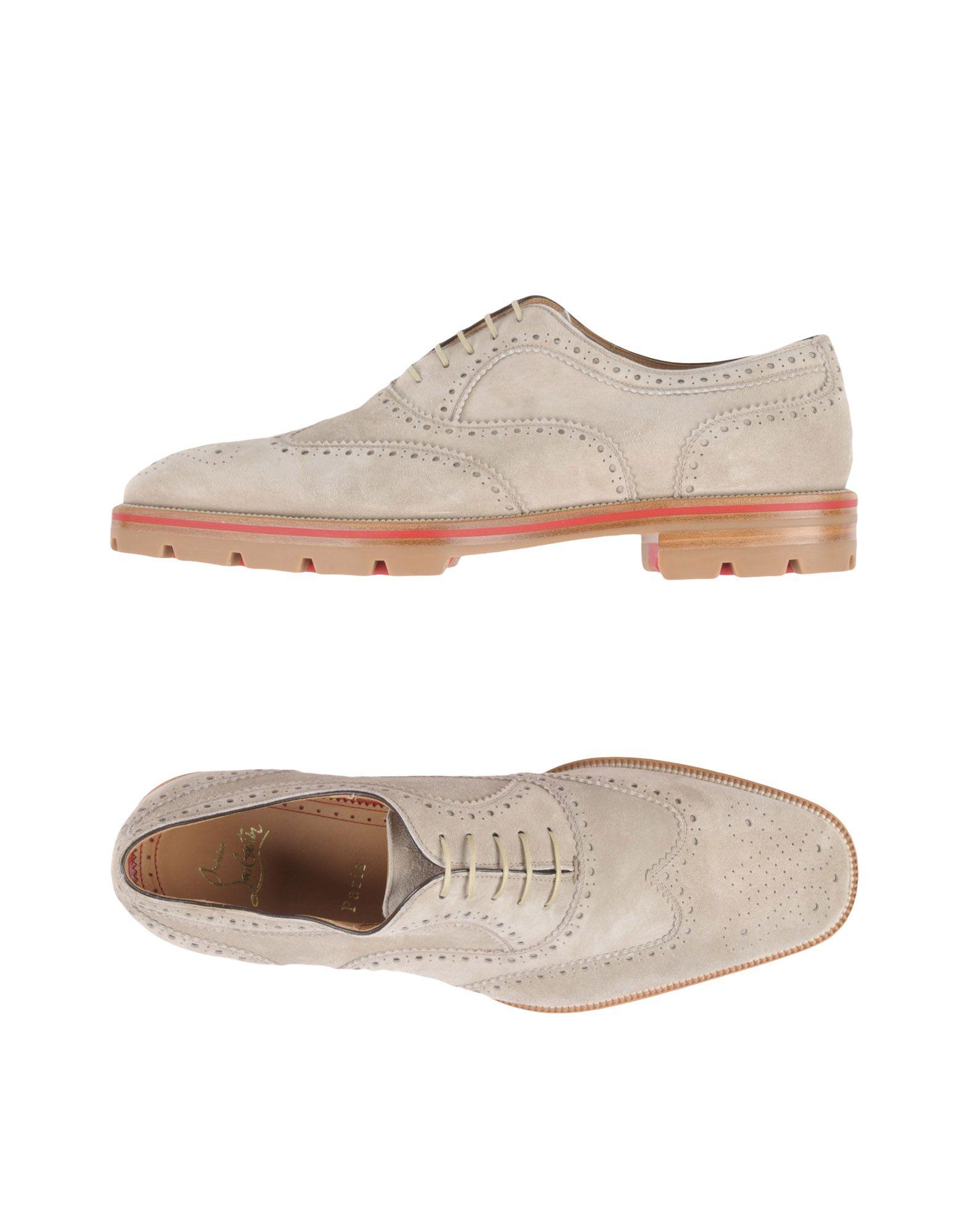 CHRISTIAN LOUBOUTIN Обувь на шнурках