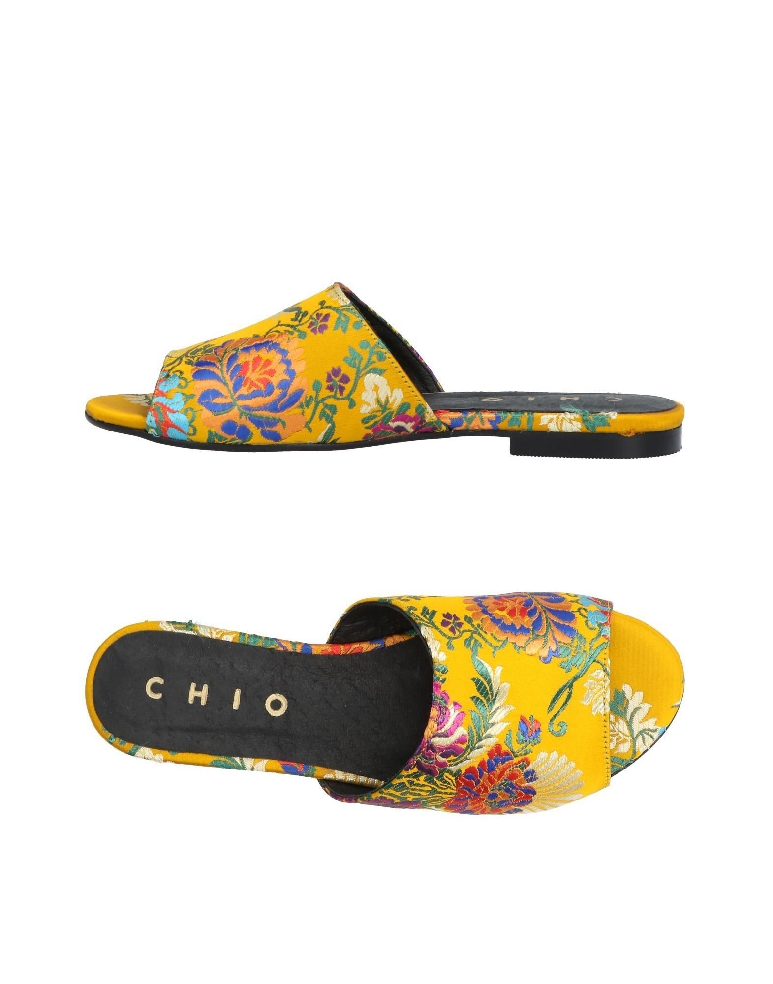 CHIO Sandals in Yellow