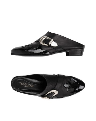 Zoccoli Nero donna STEPHEN GOOD London Mules&Zoccoli donna