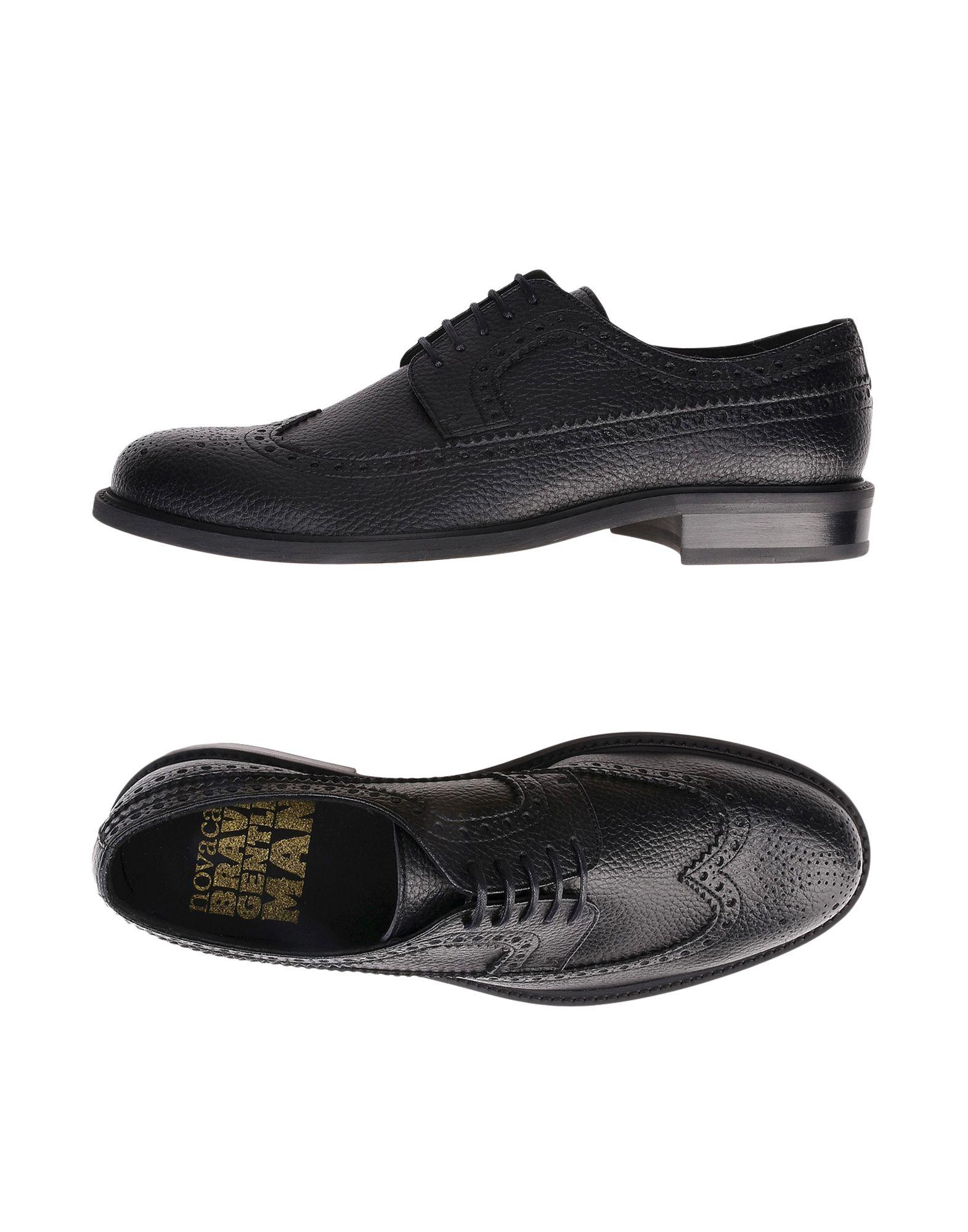BRAVE GENTLEMAN   BRAVE GENTLEMAN Lace-up shoes   Goxip