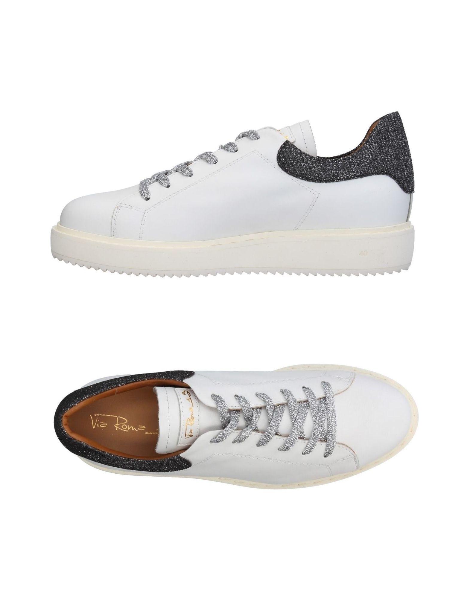VIA ROMA 15 Низкие кеды и кроссовки цены онлайн