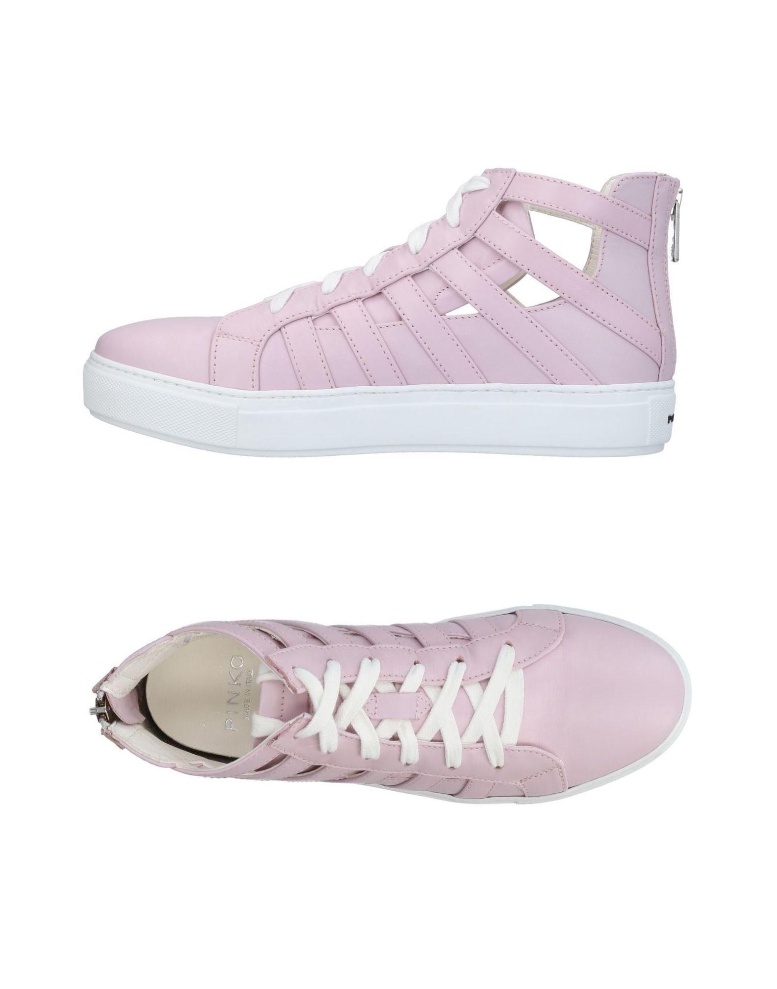 PINKO Damen High Sneakers & Tennisschuhe11 rosa