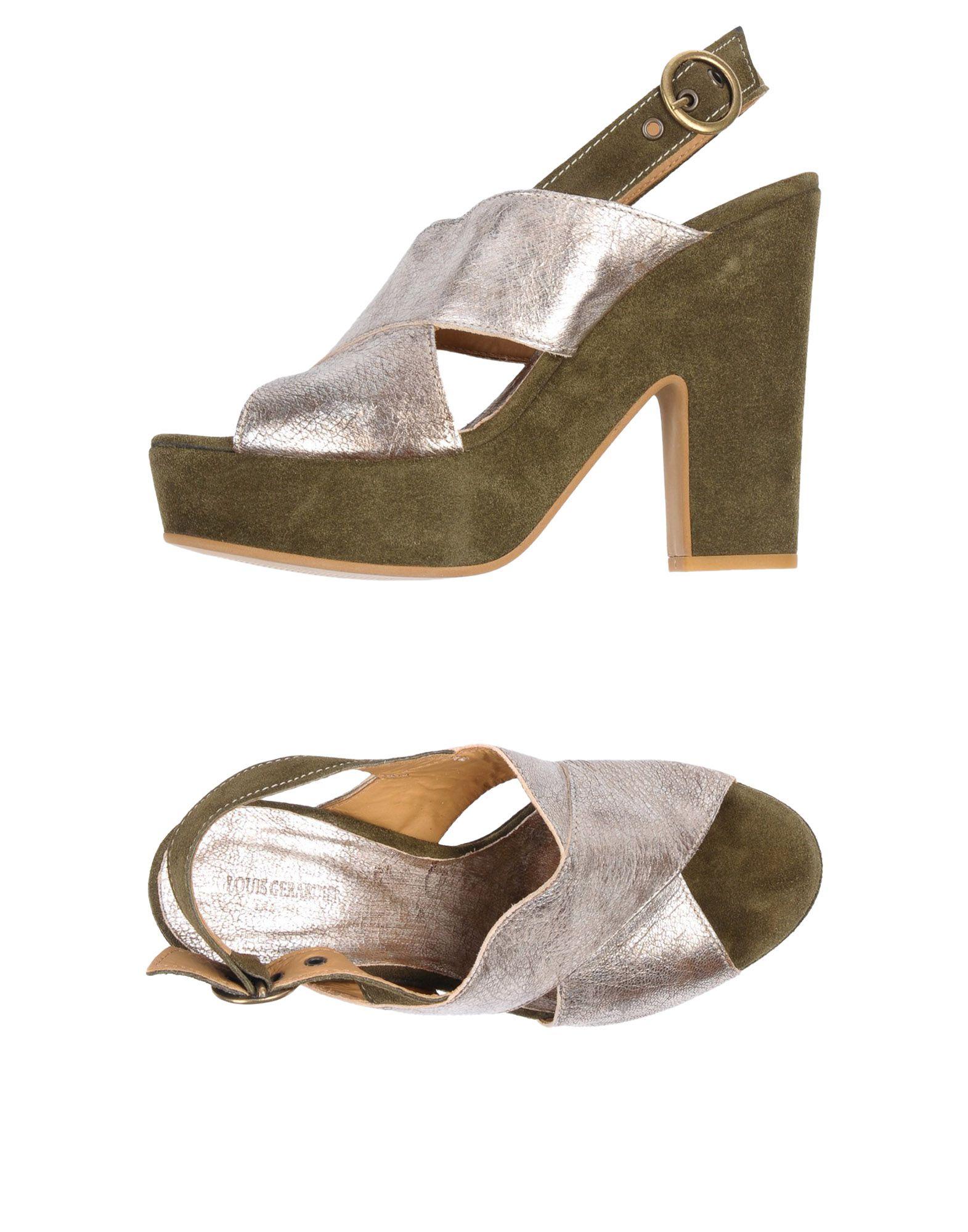 LOUIS GERARDIER Le Bottier Сандалии louis gerardier le bottier обувь на шнурках