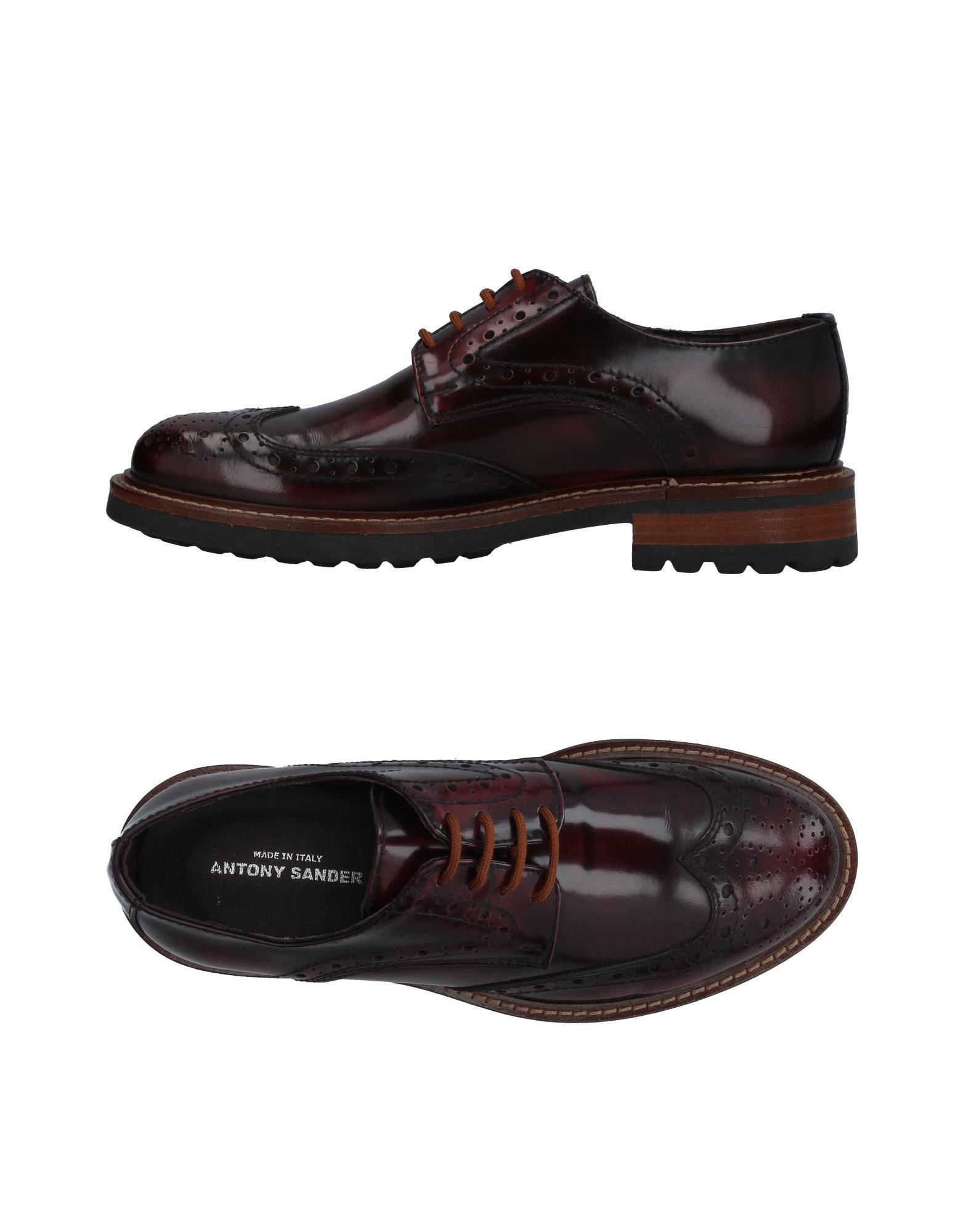 ANTONY SANDER Обувь на шнурках antony sander обувь на шнурках
