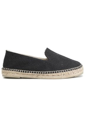 MANEBÍ Embroidered canvas espadrilles
