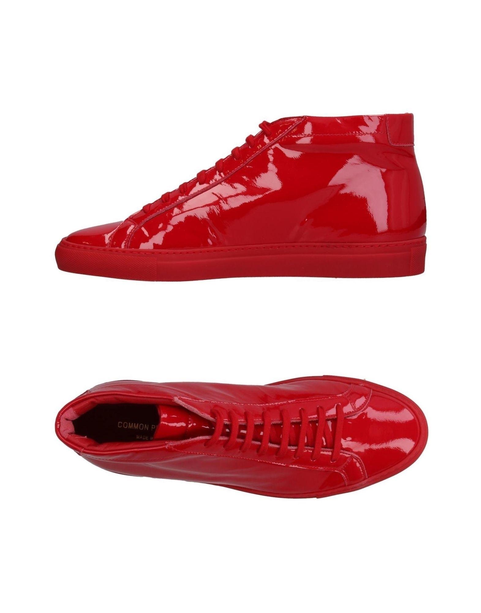 COMMON PROJECTS Высокие кеды и кроссовки