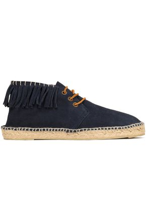 MANEBÍ Lace-up fringed espadrilles