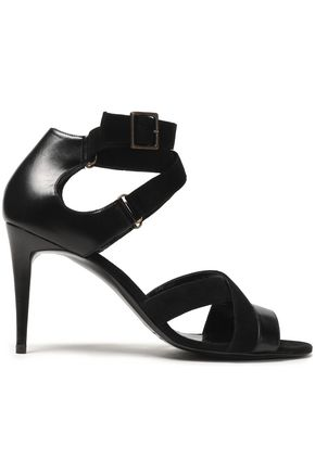 PIERRE HARDY Leather and suede sandals