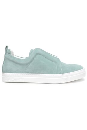 PIERRE HARDY Suede slip-on sneakers