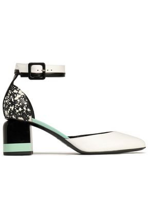 PIERRE HARDY Printed leather pumps