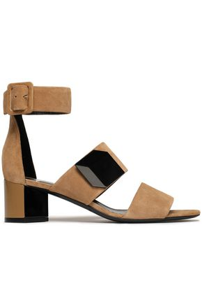 PIERRE HARDY Appliquéd suede sandals