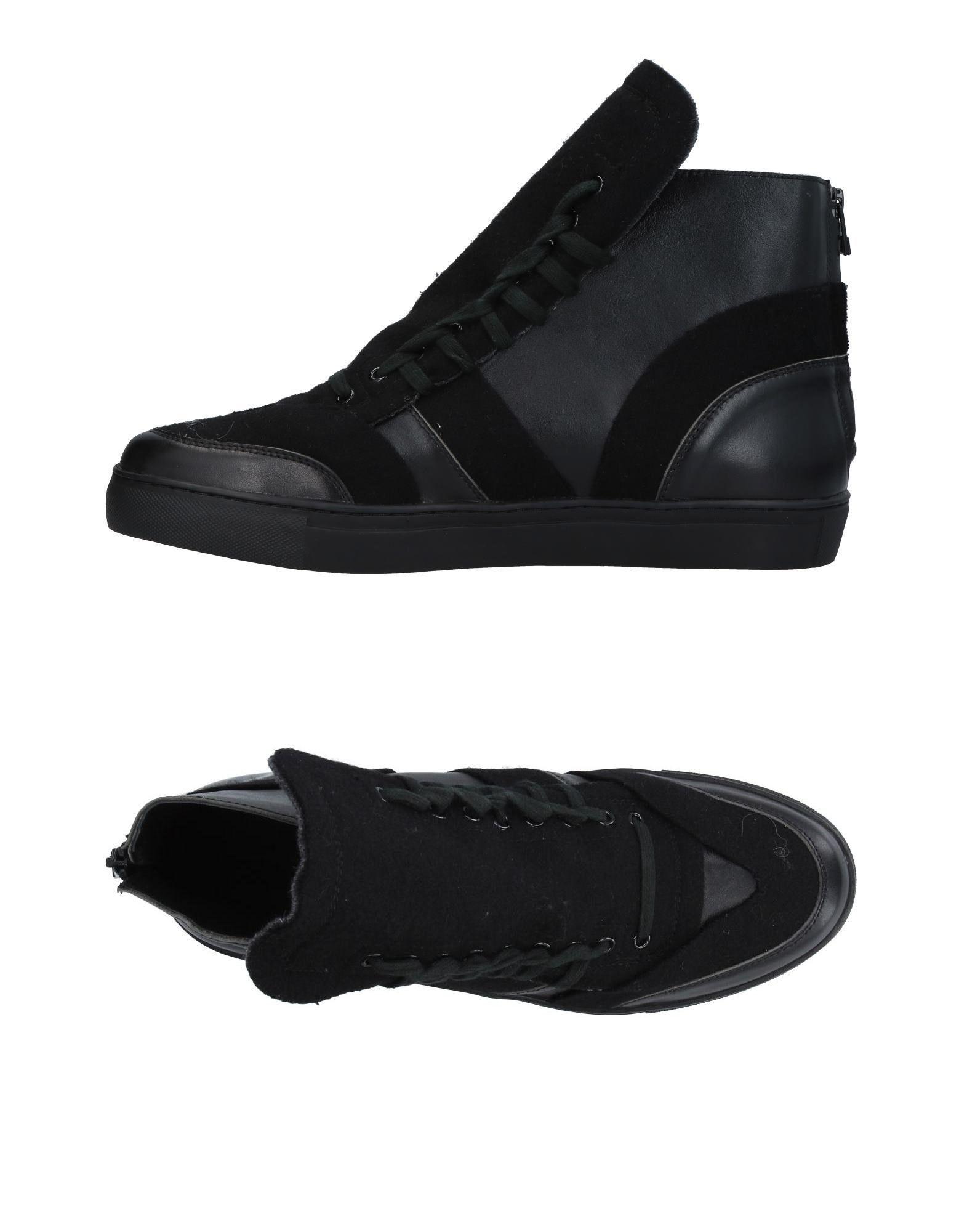 купить YOHJI YAMAMOTO POUR HOMME Высокие кеды и кроссовки по цене 49500 рублей