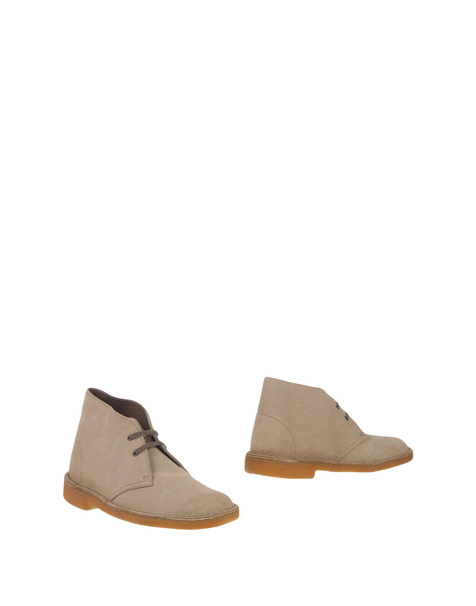 CLARKS ORIGINALS Полусапоги и высокие ботинки цена