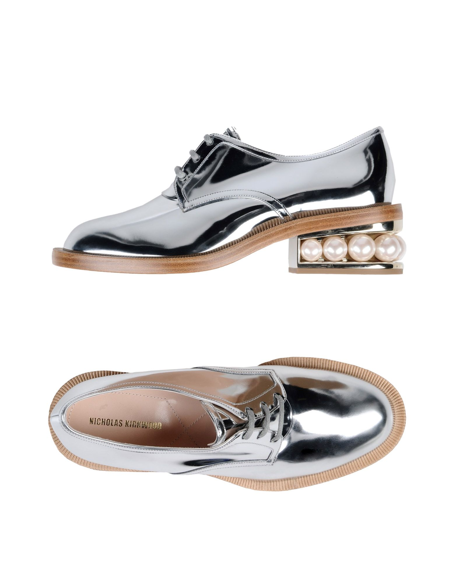 NICHOLAS KIRKWOOD Обувь на шнурках murder on st nicholas avenue