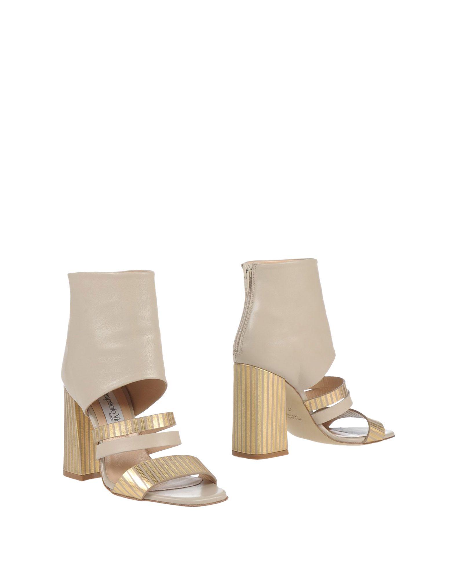 GIAMPAOLO VIOZZI Полусапоги и высокие ботинки giampaolo viozzi туфли