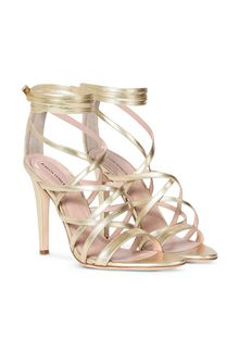 ALBERTA FERRETTI High-heeled sandals Woman f