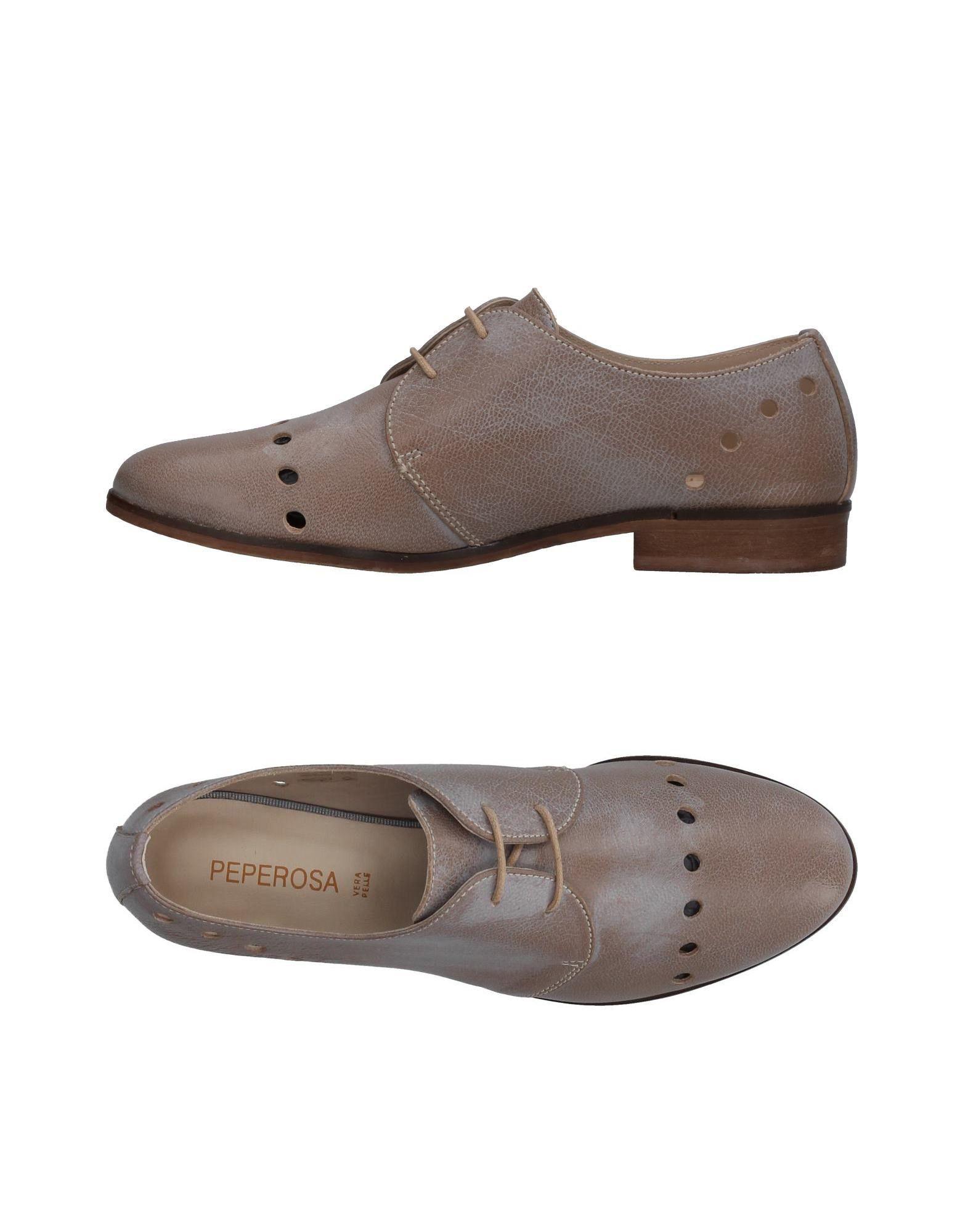 PEPEROSA Damen Schnürschuh Farbe Taubengrau Größe 5 jetztbilligerkaufen