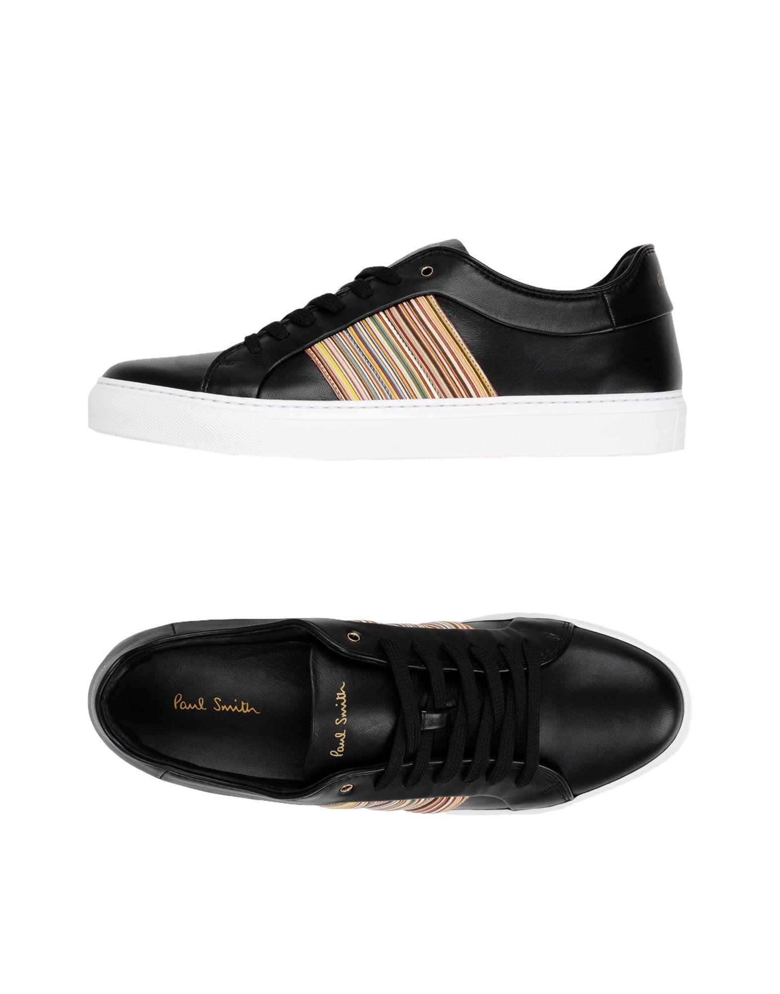 PAUL SMITH Herren Low Sneakers & Tennisschuhe Farbe Schwarz Größe 9 jetztbilligerkaufen